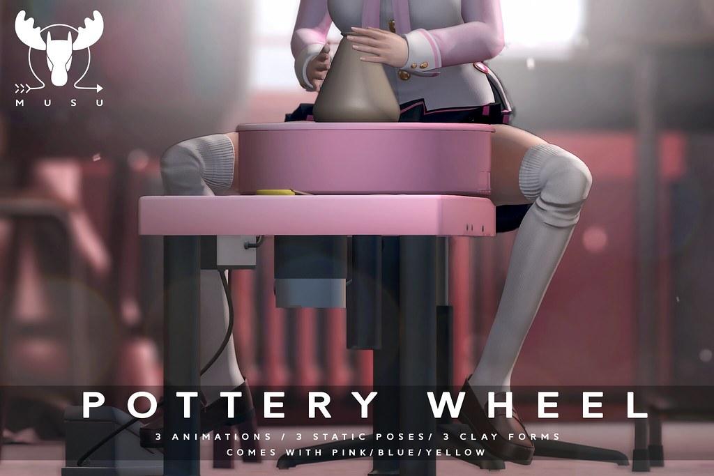 -MUSU- Pottery Wheel @ La vie en pose