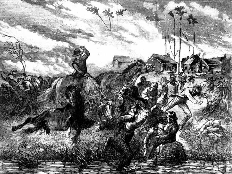 The_Peshtigo_Fire_showing_people_seeking_refuge_in_the_Peshtigo_River