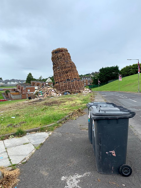Glen Estate Bonfire, Newtownards