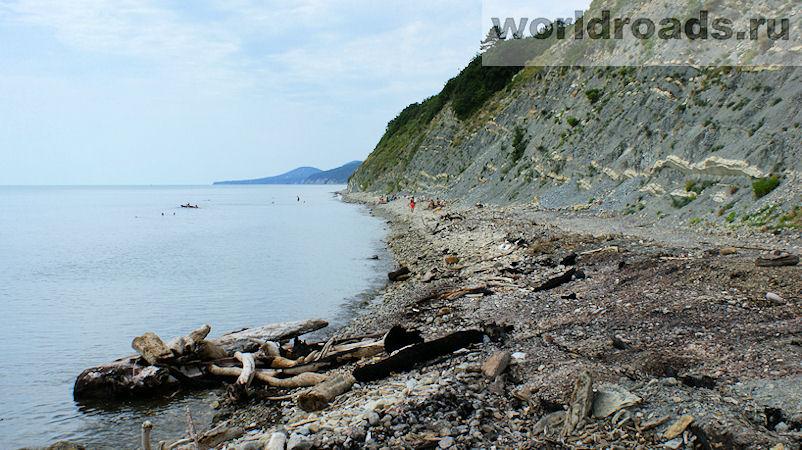 Архипо-Осиповка дикие пляжи