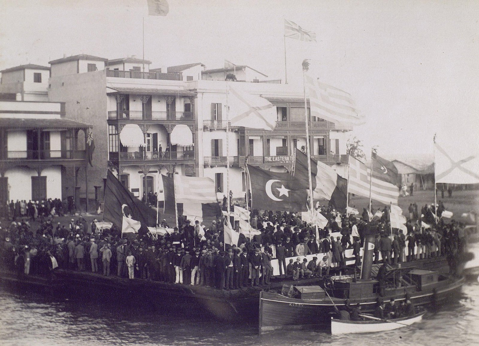 17. 1890. Египет. Встреча цесаревича Николая Александровича. Александрия