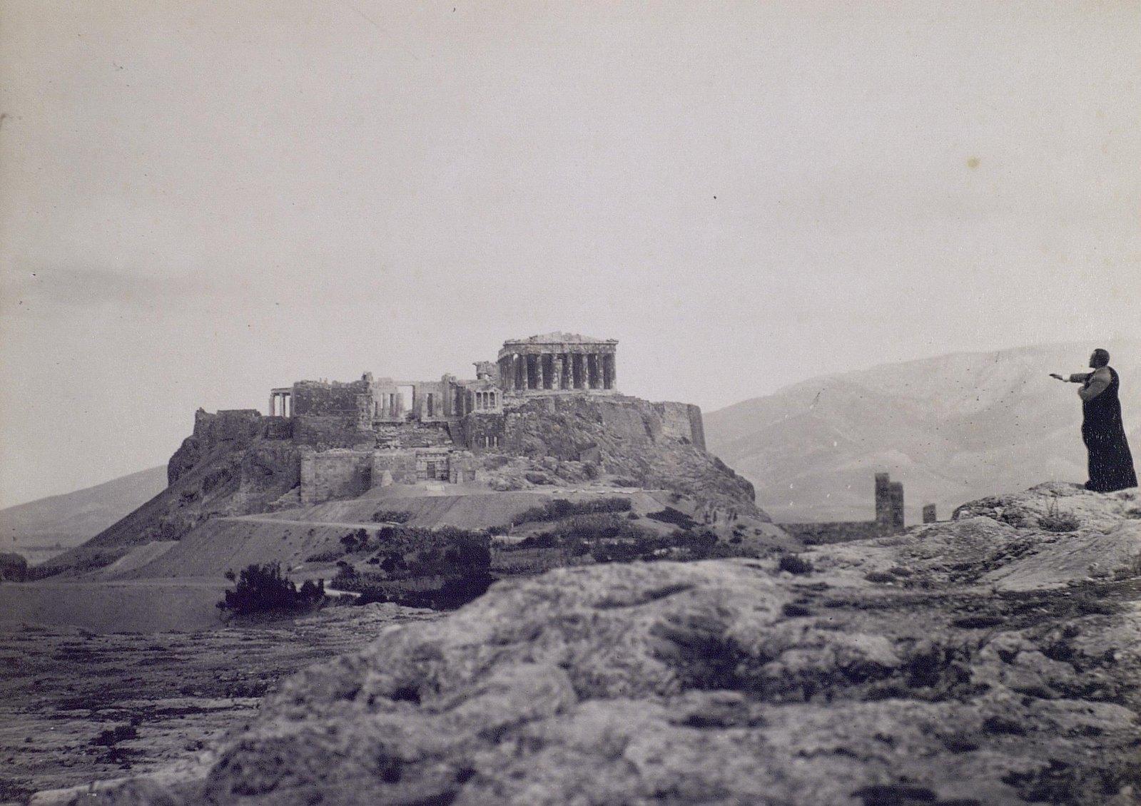 06. 1890. Греция. Вид на Парфенон