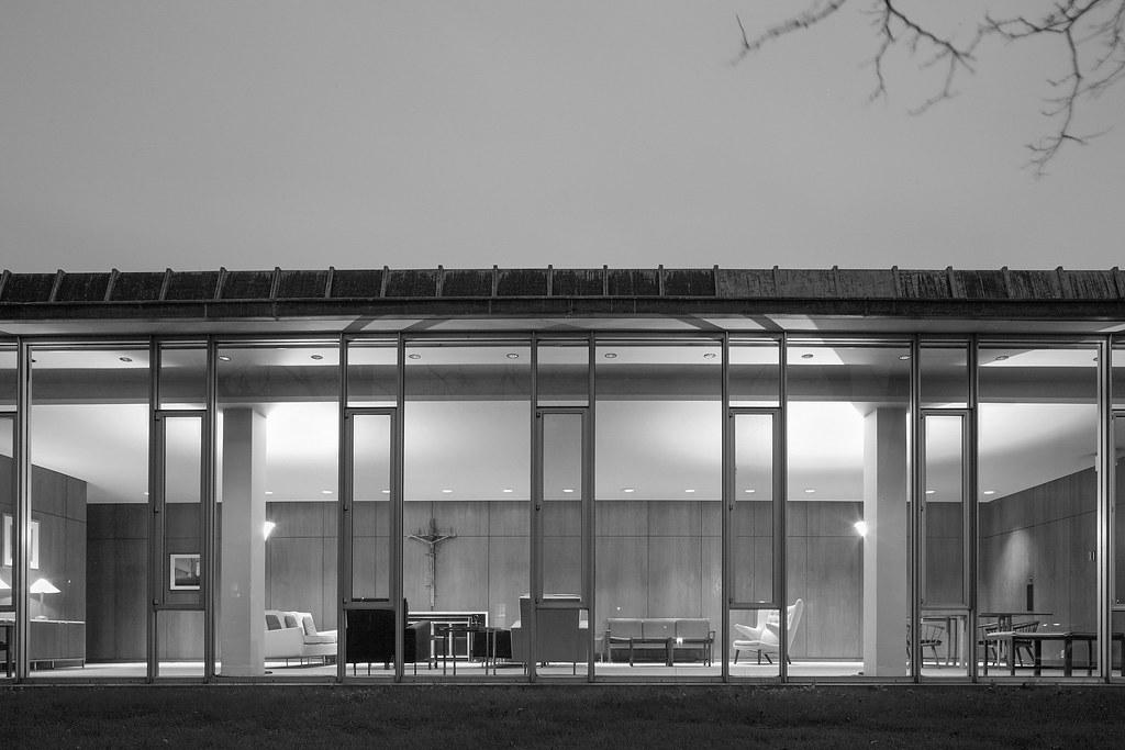 Christ Church Lutheran, Education Wing | Minneapolis, MN | Eero Saarinen
