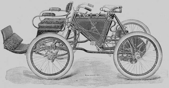 Ariel Quadricycle from 1900