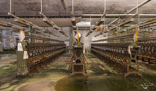 Wet fabrics factory. | by Left in the Lurch