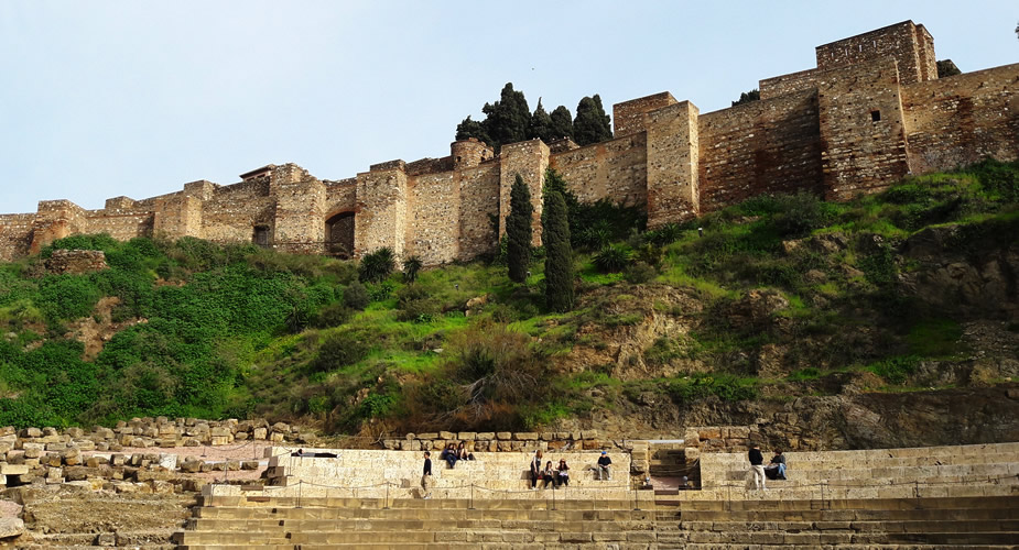 Het Alcazaba van Malaga | Mooistestedentrips.nl