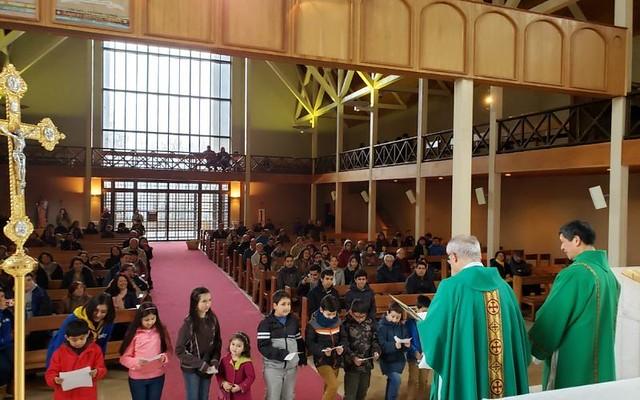Santa Misa IAM en Iglesia Catedral