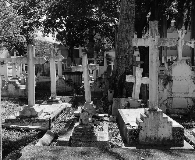 A Quiet Day In The Cemetery