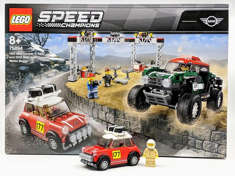 LEGO Mini Rally Forza Horizon 41125