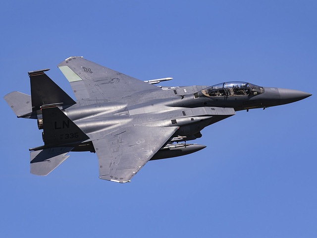 United States Air Force | McDonnell Douglas F-15E Strike Eagle | 91-0335