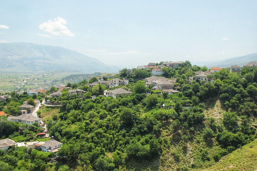 Views from Gjirokaster Castle