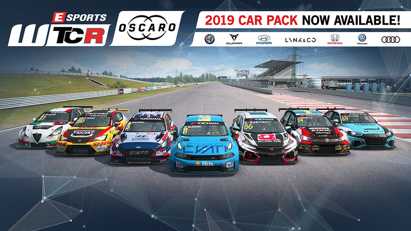 RaceRoom 2019 WTCR / OSCARO car pack