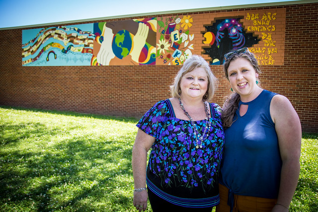 Weeks Mural Adds to List of Student-Created Public Art