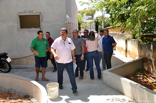 Prefeito visita obras do Hospital Municipal de Ipu