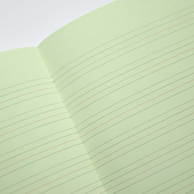 1080x1080 Green Notebook