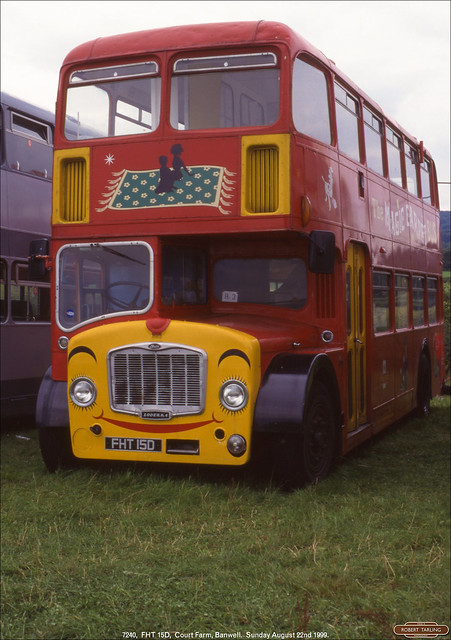 Former BOC 7240,  FHT 15D, Court Farm, Banwell, August 22nd 1999