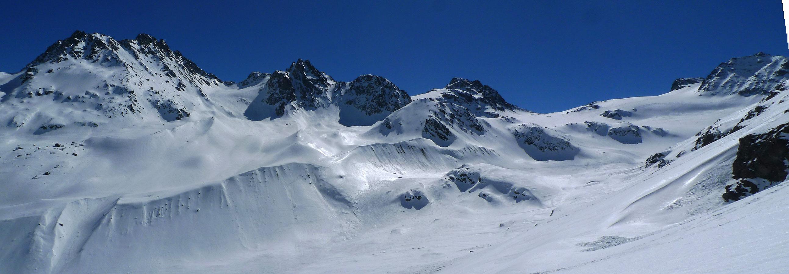 Haagspitze East (Jamtalhütte) Silvretta Rakousko panorama 34