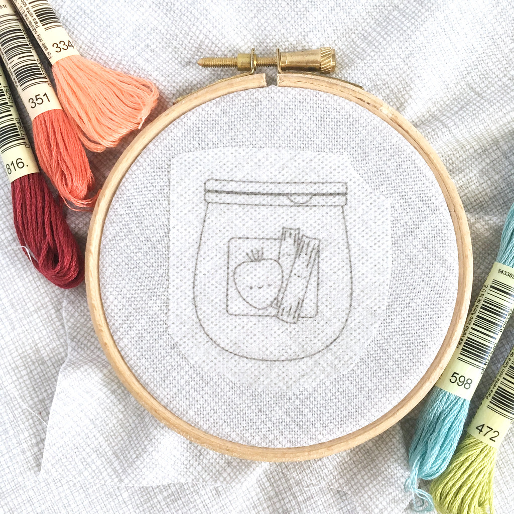 2019 July Jam of the Month Club Embroidery Pattern