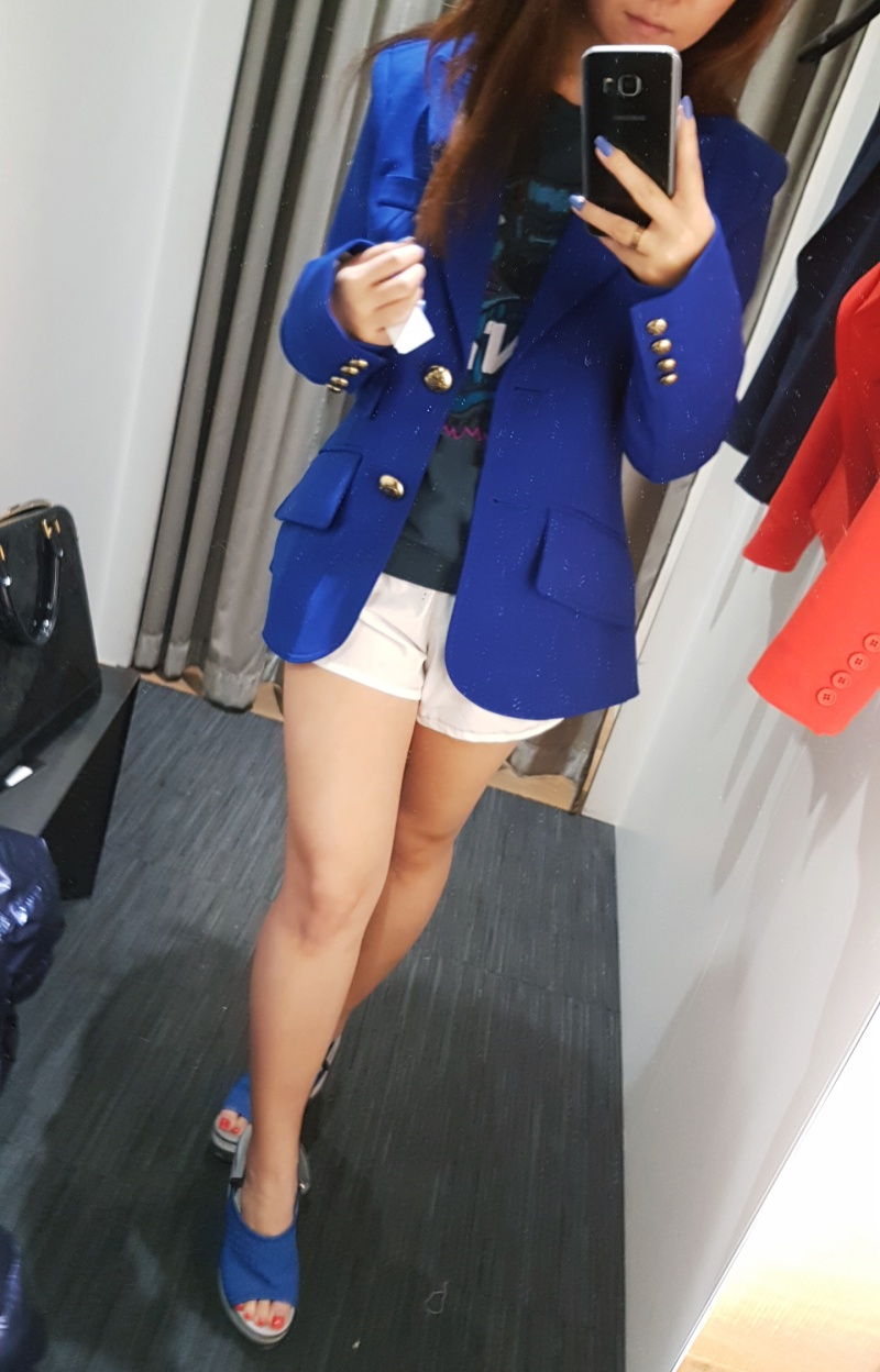 Smythe royal blue blazer