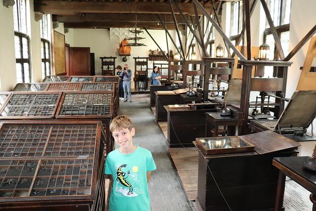Visitar Museo Plantin Moretus Amberes