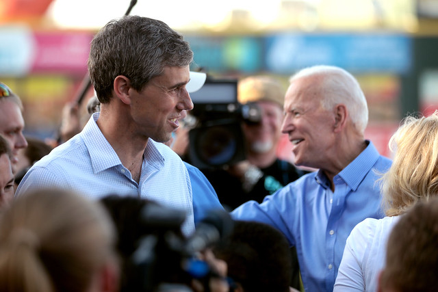 Beto O'Rourke & Joe Biden
