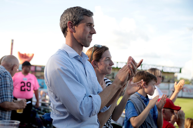 Beto & Amy O'Rourke with family