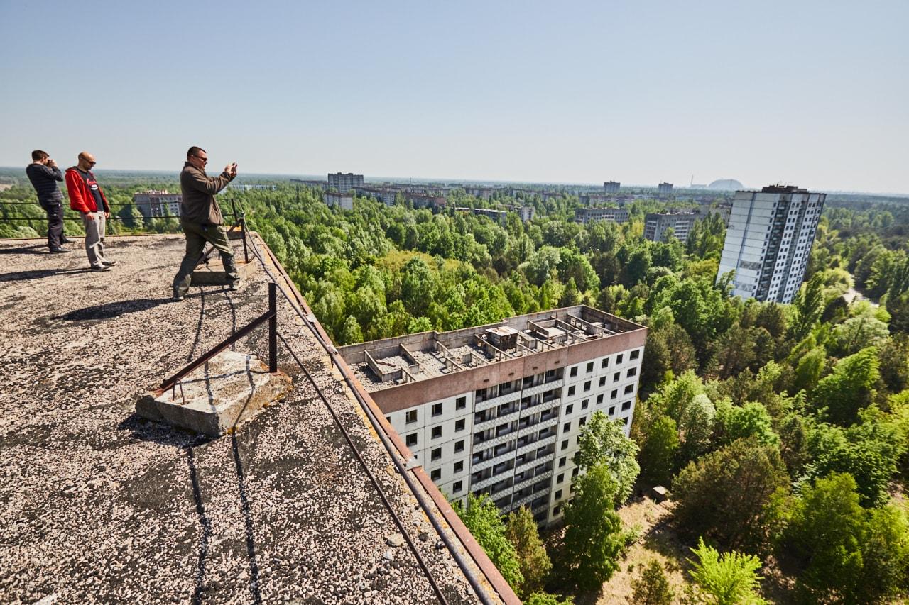 Az ukrán elnök turistaparadicsommá változtatná Csernobilt