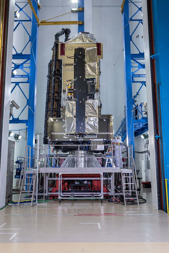 JCSAT-17 Satellite