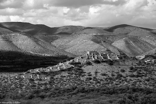 landscape outdoor black white photo