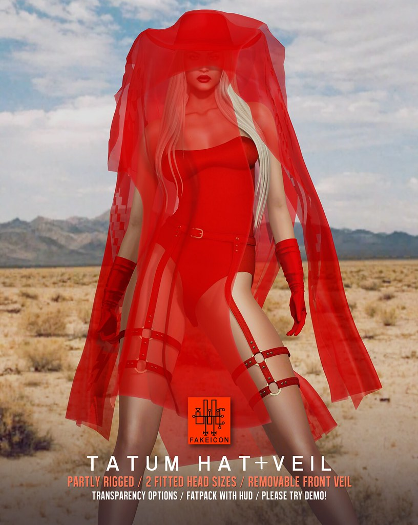 tatum hat+veil @ Equal10 - TeleportHub.com Live!