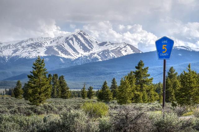 Lake County, Colorado Landscape