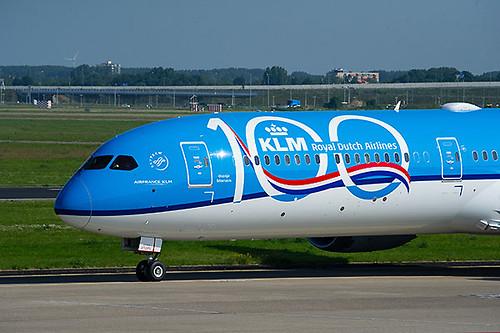 KLM B787-10 100 años (KLM)