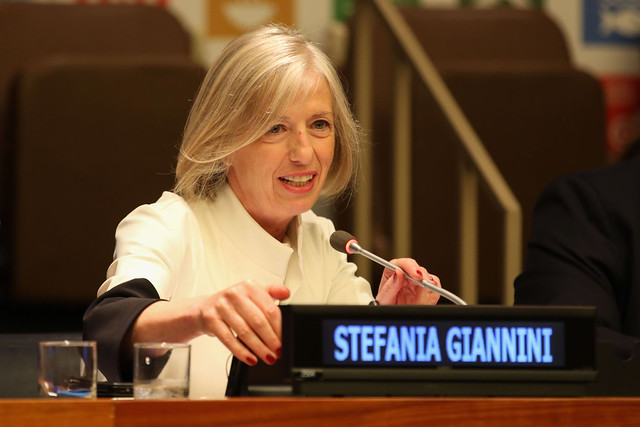 Stefania Giannini, Assistant Director-General for Education, UNESCO