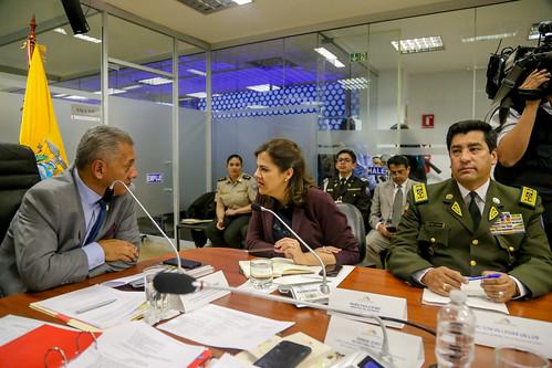 COMISIÓN DE RELACIONES INTERNACIONALES. MARÍA PAULA ROMO, MINISTRA DEL INTERIOR SITUACIÓN DE LA CRISIS CARCELARIA DEL PAÍS. QUITO, 10 DE JULIO 2019