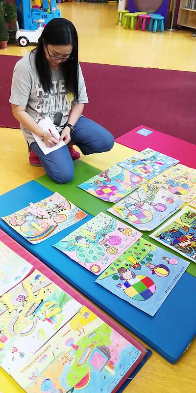 18-19年度親子繪畫比賽獲獎作品