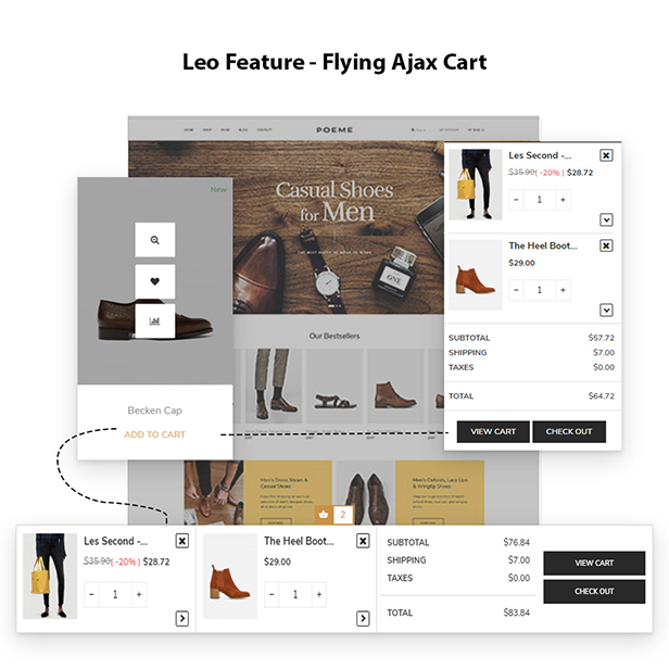 Fly Ajax Cart Pro - Leo Feature