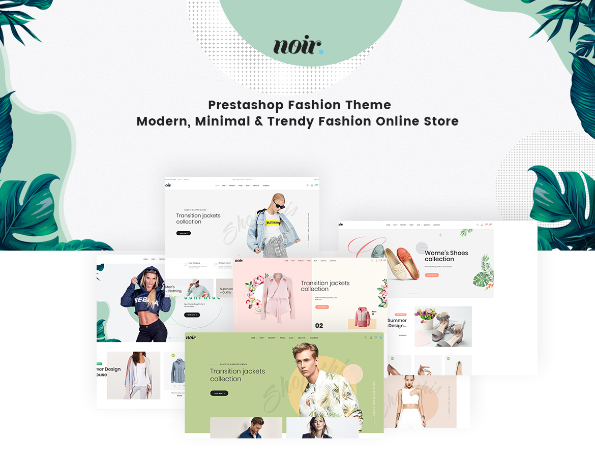 1.Leo Noir - Prestashop Fashion Theme