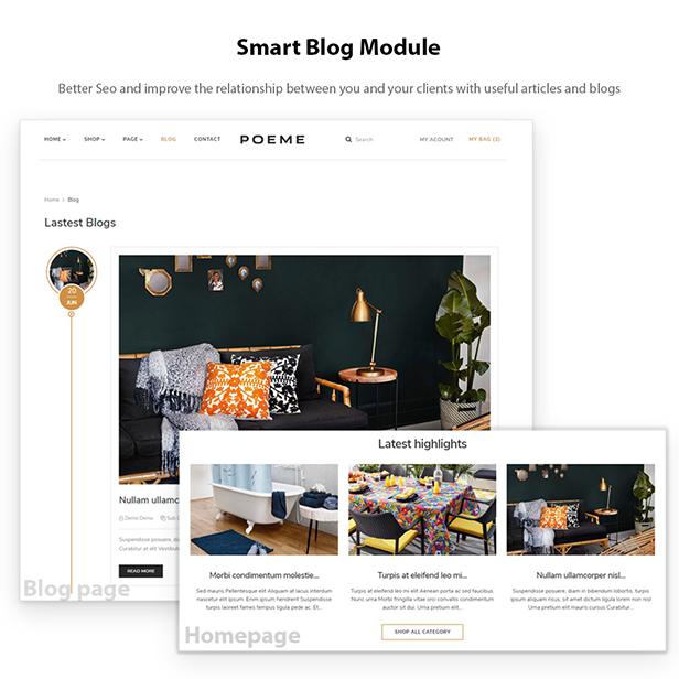 Smart Blog Module