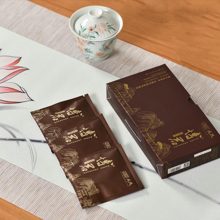 """2019 ShuangJiang MengKu """"Bo Jun"""" Loose tea 12g/100g Puerh Ripe Tea Shou Cha"""