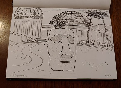 070719 Bishop Museum Moai