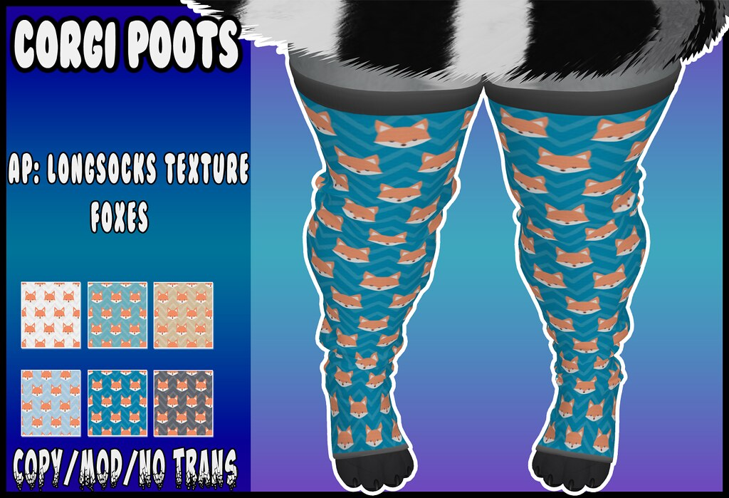 Corgi Poots – AP: Longsocks texture – Foxes