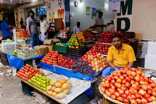 At Koyambedu Market
