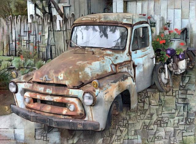 Crotchety Old Bolinas Truck