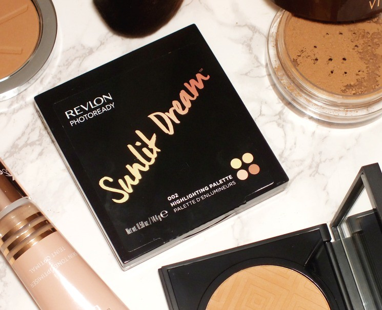 revlon sunlit dream highlighting palette
