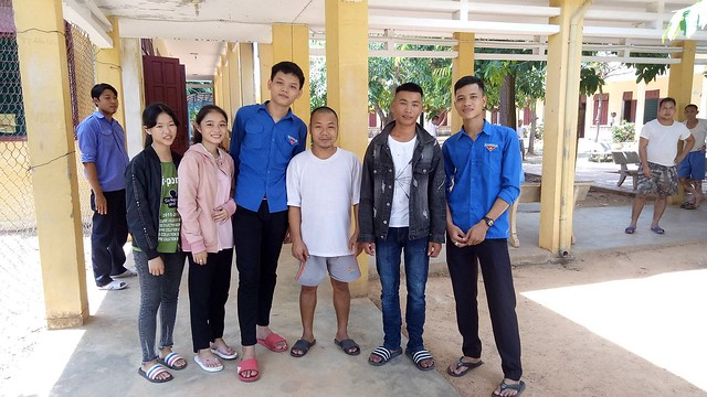 Doan xa Tam Dai voi cong tac tinh nguyen
