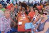 Die Gäste in den Zelten sind mehrheitlich ehemalige Banater Landsleute
