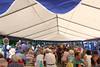 Rund 8 Stunden dauerte die Veranstaltung, zeitweise waren Sitzplätze in den Zelten knapp