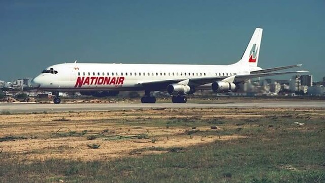 1209 Nigeria Airways Flight 2120 crashed immediately after takeoff at Jeddah Airport 01