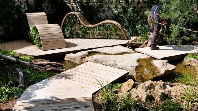 Relaxliegen aus Holz in Wassertrüdingen