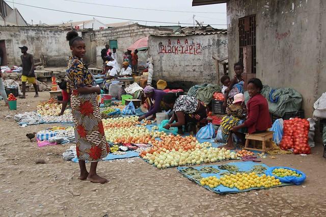 Mercado en Angola